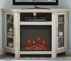 best corner electric fireplace: WE Furniture