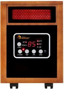 Dr. Infrared Heater Portable Space Heater, 1500-Watt.