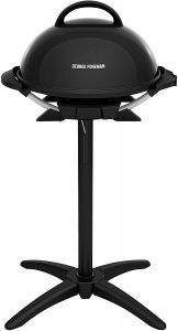 George Foreman GIO2000BK Indoor/Outdoor Electric Grill.