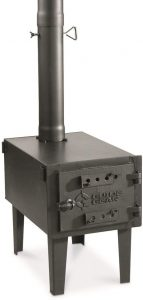 Guide Gear Outdoor Wood Stove.