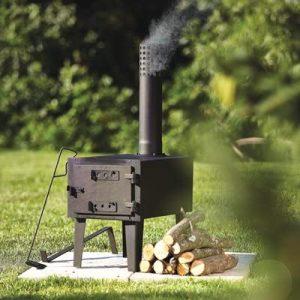 Kotulas Outdoor Wood-Burning Stove.