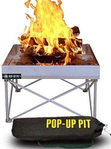 Pop-Up Fire Pit.