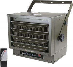 Comfort Zone Digital Fan-Forced Ceiling Mount Heater.