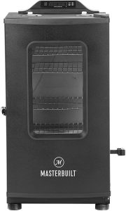Masterbuilt Bluetooth Digital Electric Smoker with Broiler, 30-inch.