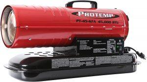 Pro-Temp 45,000 BTU Forced Air Heater.