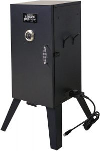 Smoke Hollow Electric Smoker with Adjustable Temperature Control.