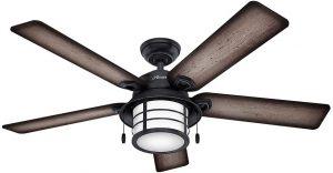 Hunter Key Biscayne Indoor / Outdoor Ceiling Fan.