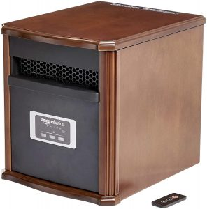 AmazonBasics Portable Eco-Smart Space Heater.