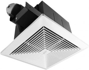 BV Ultra-Quiet 90 CFM, 0.8 Sone Bathroom Ventilation & Exhaust Fan.