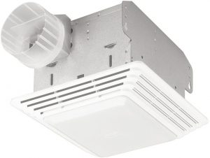 Broan-NuTone 678 Exhaust Ventilation Fan and Light Combination for Bathroom and Home.