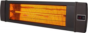 Dr. Infrared Heater 1500W Patio Heater.
