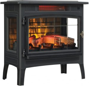 Duraflame 3D Infrared Quartz Electric Fireplace Stove.