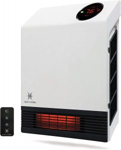 Heat Storm Deluxe Mounted Space Infrared Wall Heater.