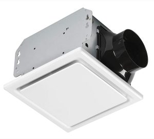Homewerks Worldwide 7140-50 Bathroom Fan Ceiling Mount Exhaust Ventilation.