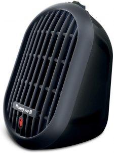 Honeywell HCE100B Heat Bud Ceramic Heater Black.