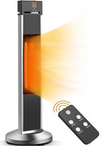 Patio Heater-Trustech Infrared Space Heater.