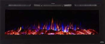 Best Electric Fireplace: Touchstone Sideline.