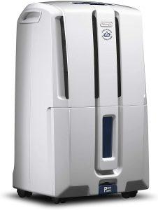 De'Longhi 50 Pint Dehumidifier with Built-in Pump.