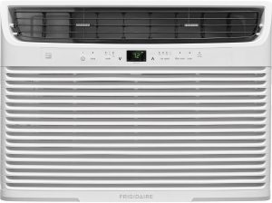 Frigidaire FFRE2533U2 25,000 BTU 230V Window-Mounted Heavy-Duty Temperature Sensing Remote Control Air Conditioner.