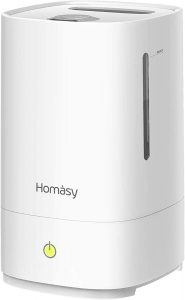 Homasy 4.5L Cool Mist Humidifier.