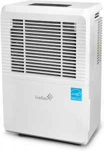 Ivation 4,500 Sq Ft 70-Pint Energy Star Dehumidifier with Pump.