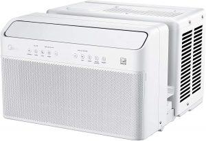 Quietest window air conditioner: MIDEA.