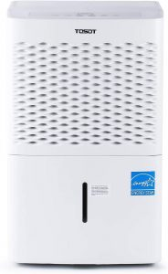TOSOT 4,500 Sq Ft Dehumidifier with Internal Pump.