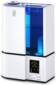 TaoTronics 4L Cool Mist Ultrasonic Humidifier.