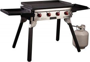 Camp Chef Portable 4-Burner 600 Flat Top Grill.