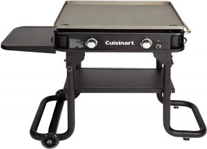 """Cuisinart Flat Top Professional Quality Propane CGG-0028 28"""" Two Burner Gas Griddle."""