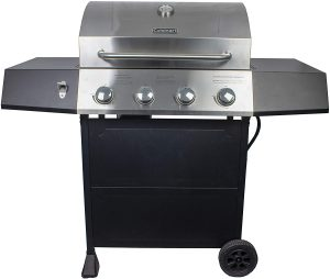 Cuisinart CGG-7400 Propane, 54 Inch, Full-Size Four-Burner Gas Grill.