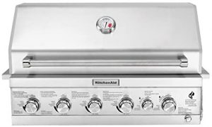 KitchenAid 740-0781 Built Propane Gas Grill.