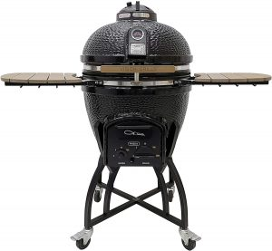 Vision Pro Kamado Charcoal Grill with Cover.